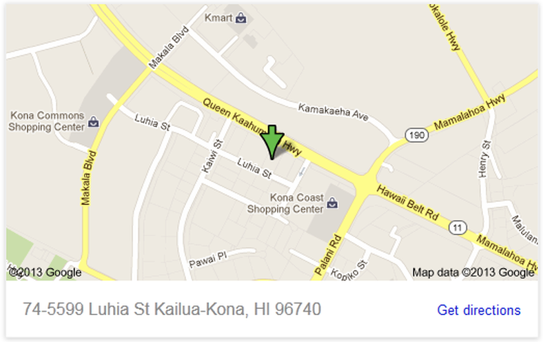 Map to Store/Store pics - Kona Guns and Ammo Kailua Kona Street Map on kapaa street map, wailuku street map, burbank street map, honolulu street map, waianae street map, waipahu street map, kalihi street map, molokai street map, big island street map, wahiawa street map, harrisburg street map, lanai city street map, kahului street map, birmingham street map, north kona street map, kaneohe street map, pearl harbor street map, chattanooga street map, berkeley street map, hilo street map,